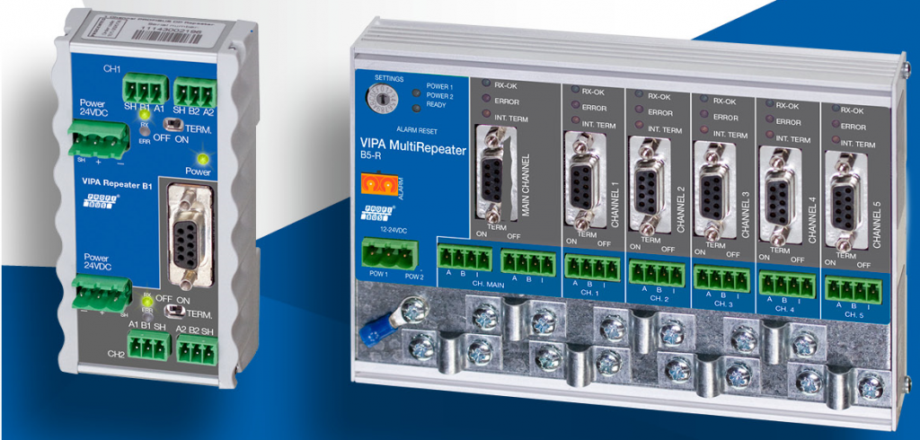 Повторители (MultiRepeater) YASKAWA VIPA Controls
