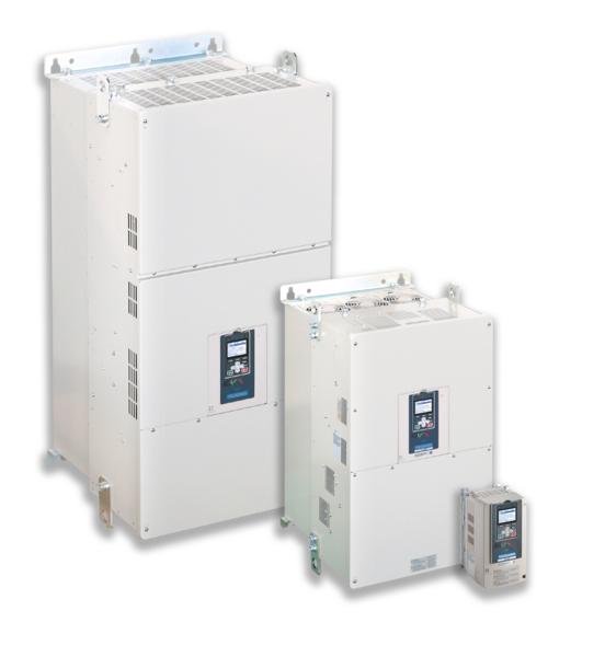 Линейка ПЧ GA700 от 0,55 кВт до 630 кВт