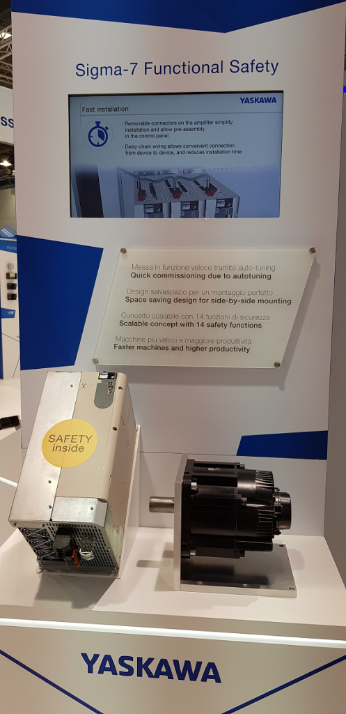 YASKAWA сервопривод Sigma 7 с EtherCAT Safety